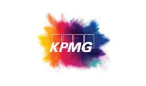 Pavi Lustig Voice Artist KPMG Logo